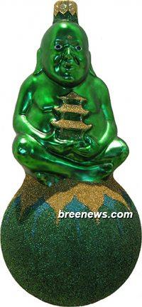 Buddha on Ball