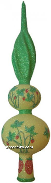 Miniature Wild Strawberry Finial