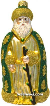 Santa of the Golden Oaks