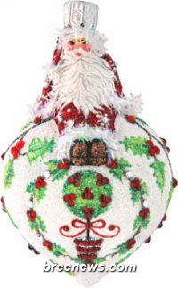 Miniature Steadfast Santa
