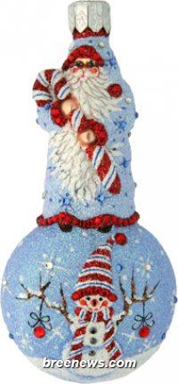 Confectionary Santa