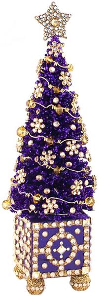 Arbre de Noel Purple…. Christmas at the Zoo