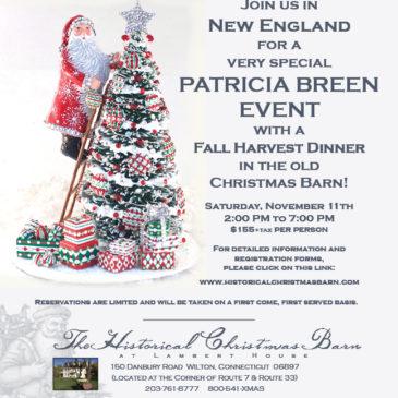 Fall Event….  Historical Christmas Barn
