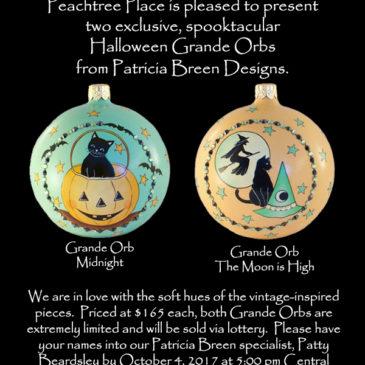 Grande Orbs, Halloween…. Peachtree Place