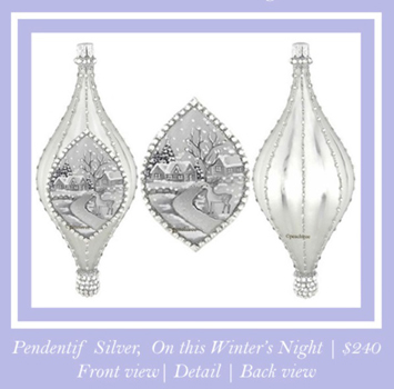 Pendentif, On this Winter's Night… Peachtree Place