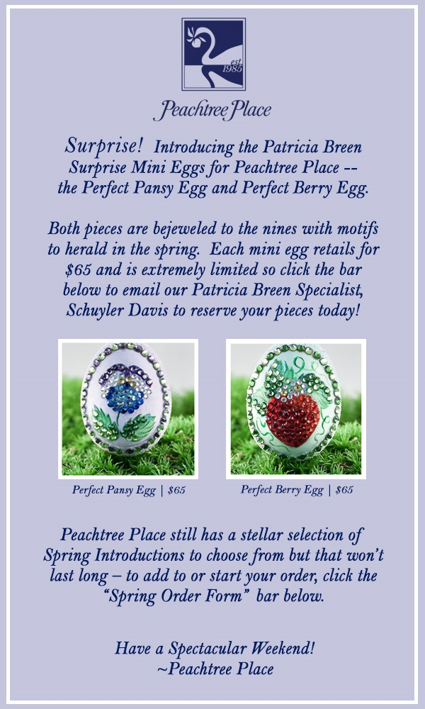 Peachtree Place Miniature Surprise Eggs