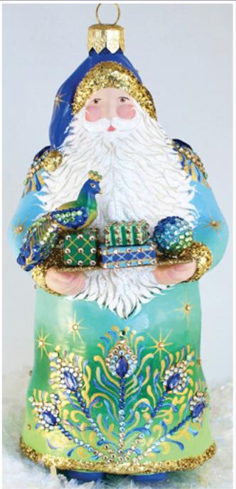 Historical Christmas Barn…The Gift: Peacock