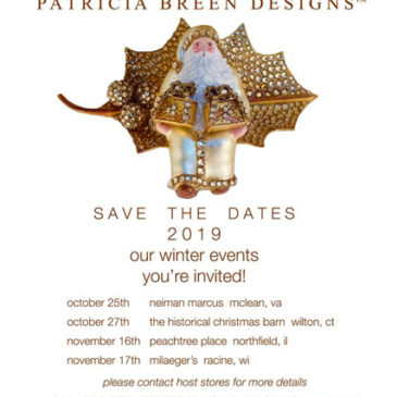 2019 Winter Events…  Save The Dates