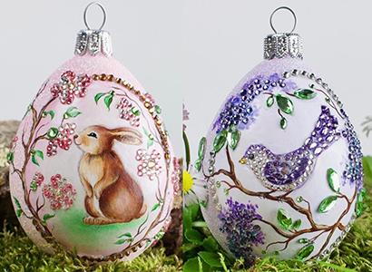 Christmas at the Zoo… Cherry Blossom Bunny & Bijoux Bird, Lilac