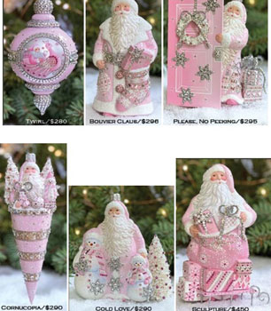 Pink…. Historical Christmas Barn