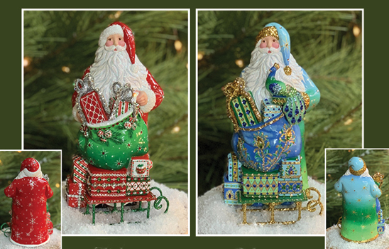 Beloved Claus Sculpture….Historical Christmas Barn