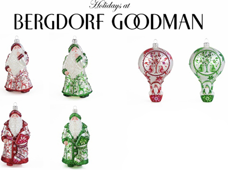Exclusives…. Bergdorf Goodman